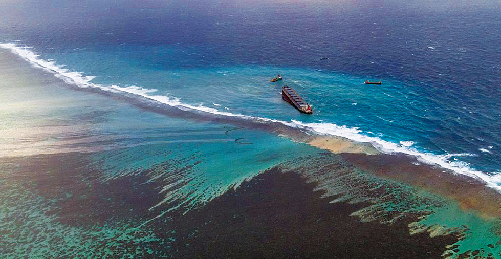 日本船印度洋漏油 釀生態災難