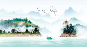 「離家一日 世間半年」 漁夫江上遇仙人
