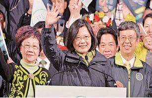 陸民:台大選兩岸三地好榜樣