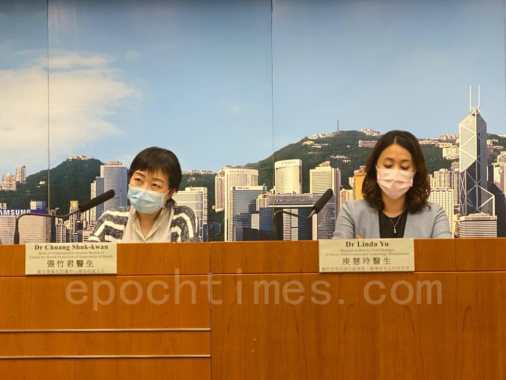 中共黨媒《環球時報》8月12日於Twitter發文稱,香港國際機場很快將恢復前往大陸的中轉航班服務。對此,衛生防護中心傳染病處主任張竹君回應:暫不評論。(霄龍/大紀元)