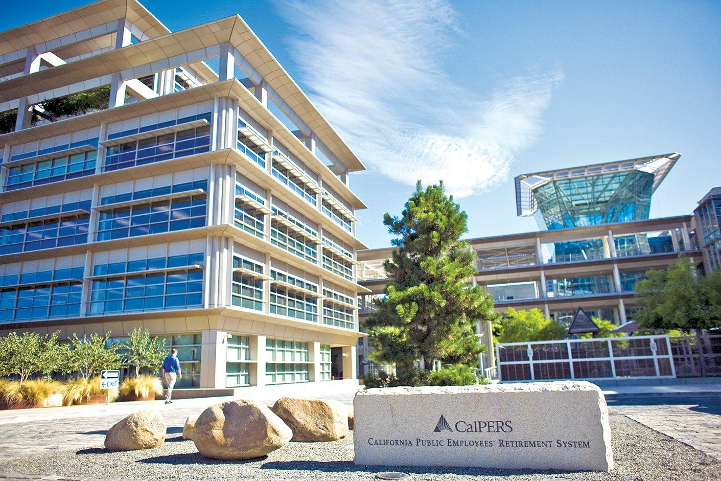 加州公務員退休基金(CalPERS)位於加州的總部。(Getty Images)