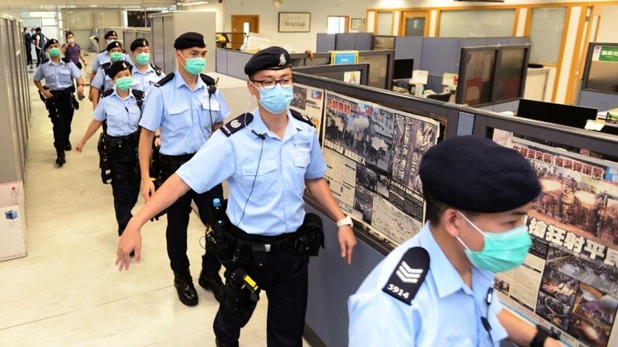 寒蟬效應?香港警隊怕美制裁 緊急轉移上百億資產