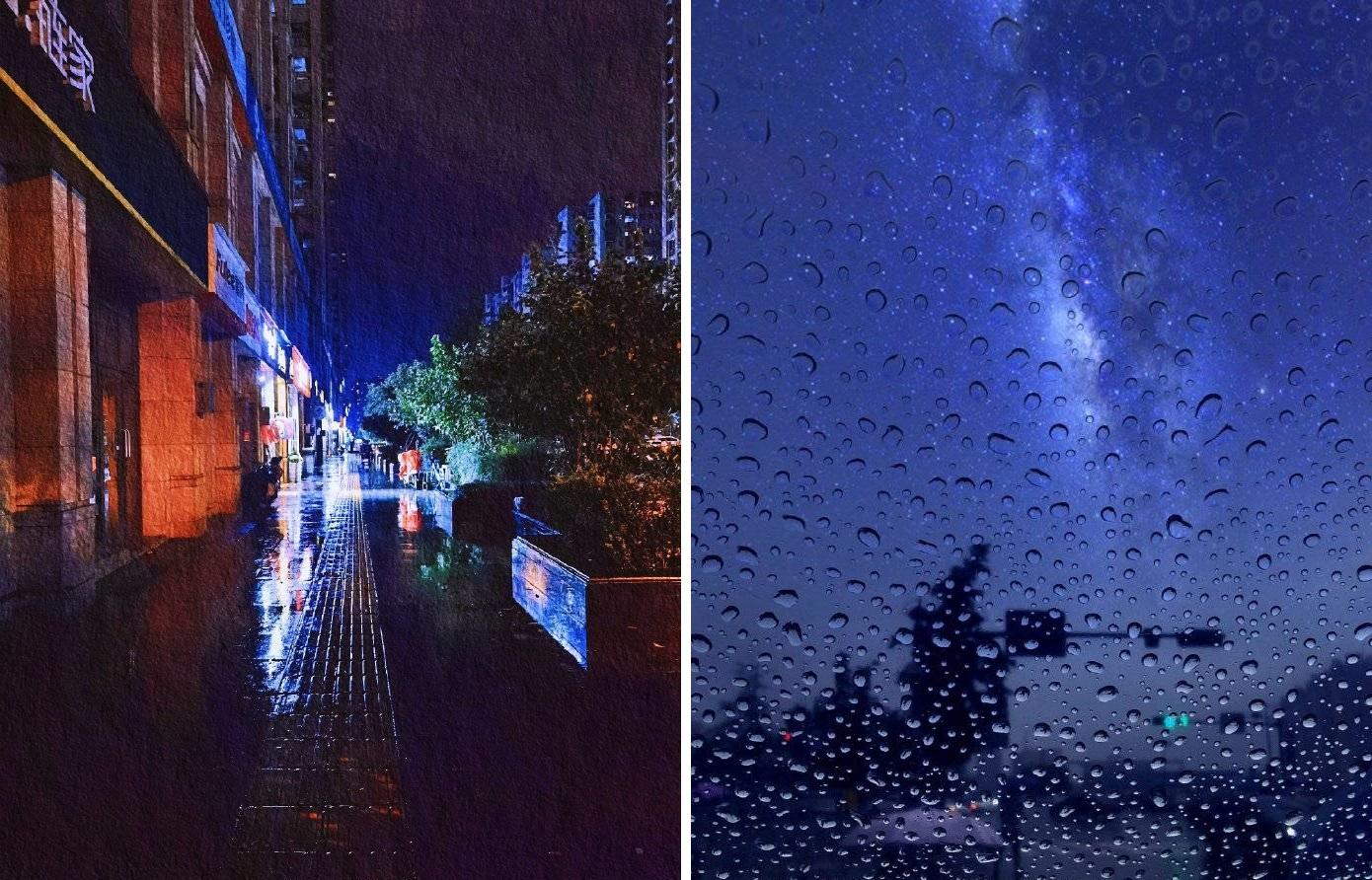 8月11日下午2時左右,四川成都市被烏雲覆蓋,正午2時的天色猶如進入了夜晚,整個城市漆黑一片。(網絡圖片)
