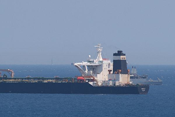 圖為超大型油輪示意圖,與本文無關。(JORGE GUERRERO/AFP)