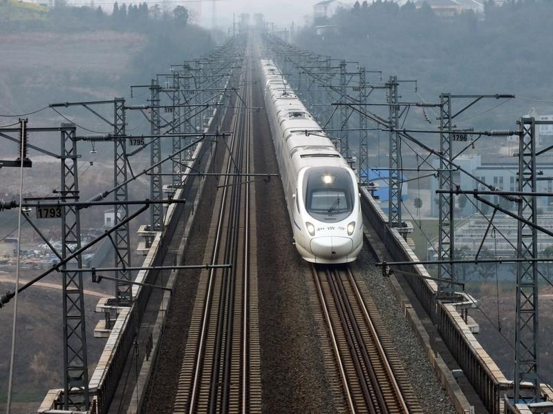 中國高鐵「走出去」再次遇挫。(網絡圖片)