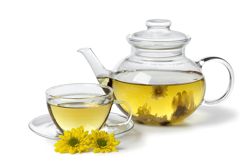 菊花茶。(Fotolia)