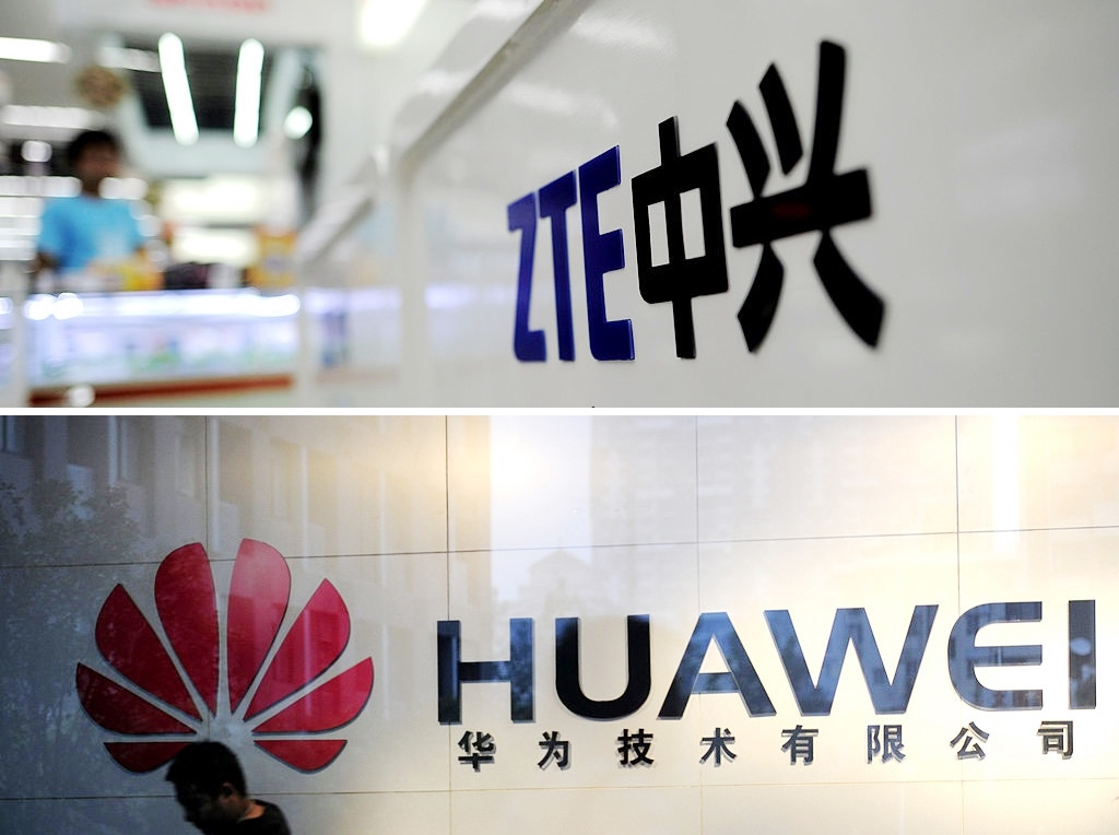 8月13日是美國政府禁止從使用華為等5間中國公司產品的公司那裏購買產品或服務的新規定生效日。日本通訊巨頭NTT表示,遵守美國禁令,與華為切割。(Getty Images/大紀元合成)
