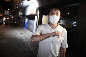 【圖片新聞】疑國安跟蹤許智峯被警員放行 許斥警方有包庇之嫌