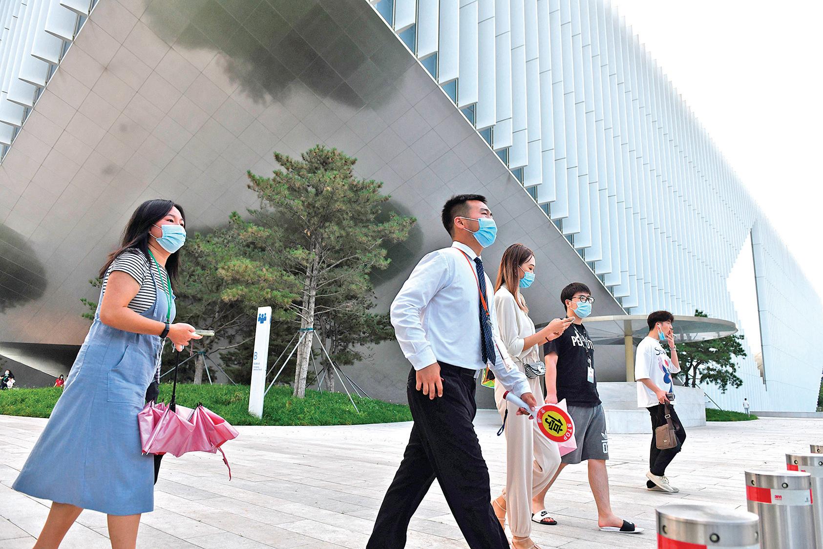 p互聯網巨頭騰訊公司深圳總部大樓。(AFP)