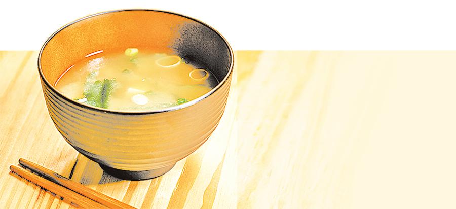 一碗長壽味增湯 改善疲勞延緩老化