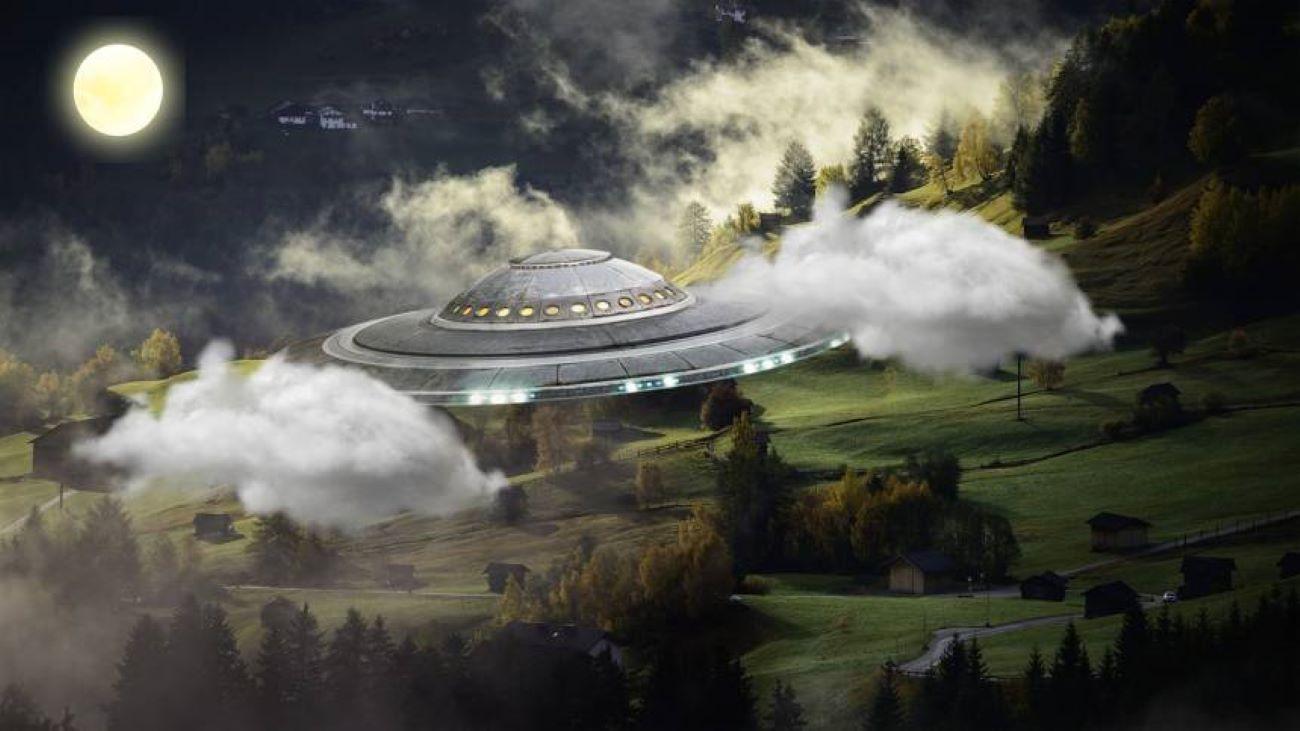 不明飛行物體(UFO)照片。示意圖(pixabay)