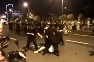 江蘇連雲港民眾抗議建核廢料處理廠遭鎮壓