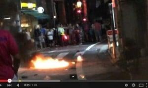 東京慶典遊行隊伍遭人投擲爆炸物 1死15傷