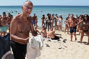 七十二歲葡萄牙總統跳海救人 民讚「身手矯健」