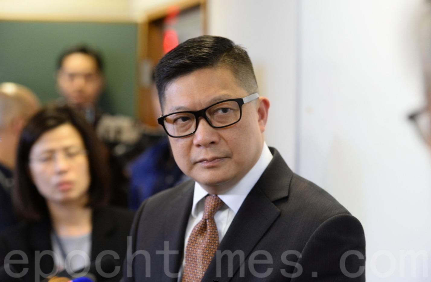 8月18日,有媒體披露,鄧炳強於美方宣佈制裁3日前,將個人物業由滙豐銀行轉按至香港中銀。(大紀元資料圖片)