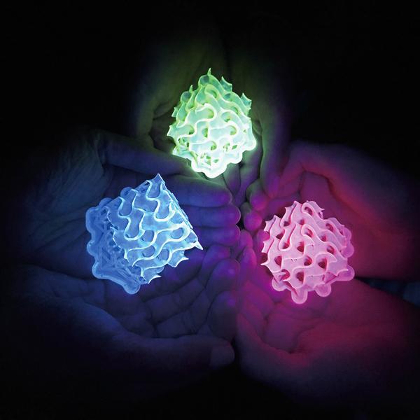 科學家造出最亮螢光材料