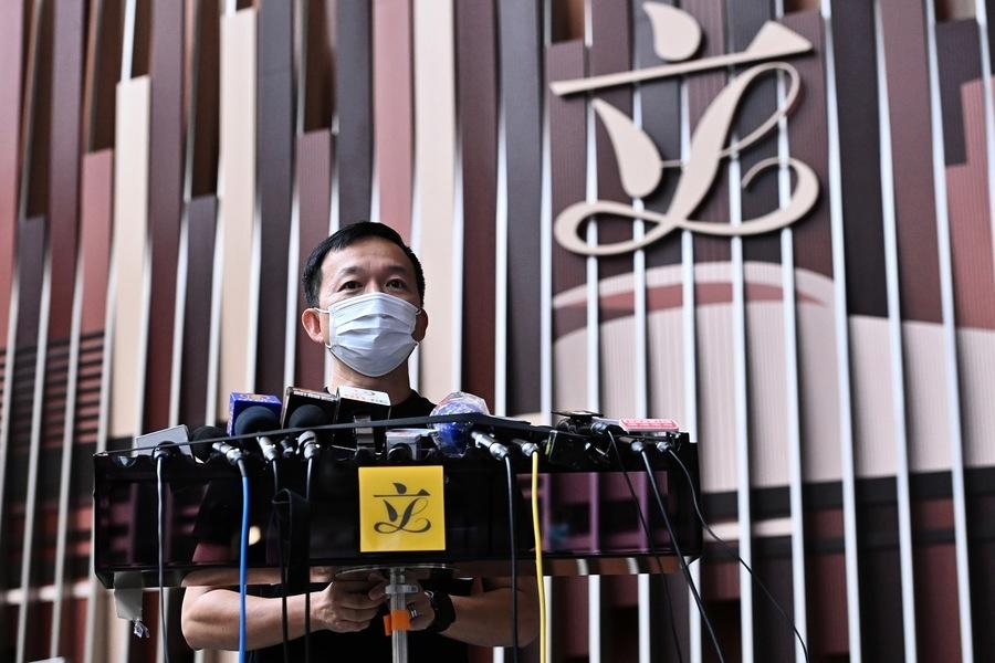 港立法會議員陳志全去留只在乎「民意」