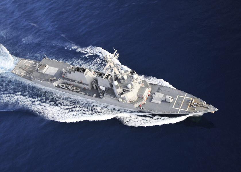 美日東海軍演 美艦首度南下通過台灣海峽中線以西