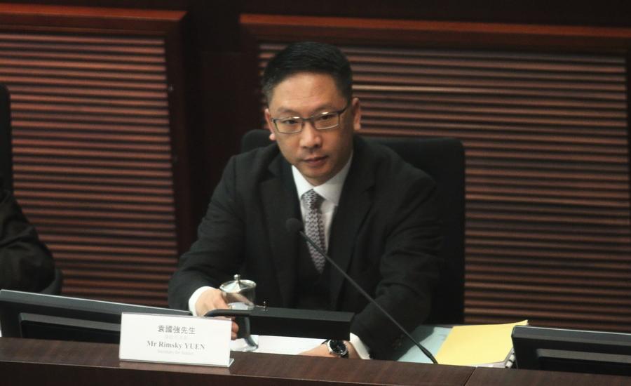 選舉確認書風波 袁國強指不尋求人大釋法