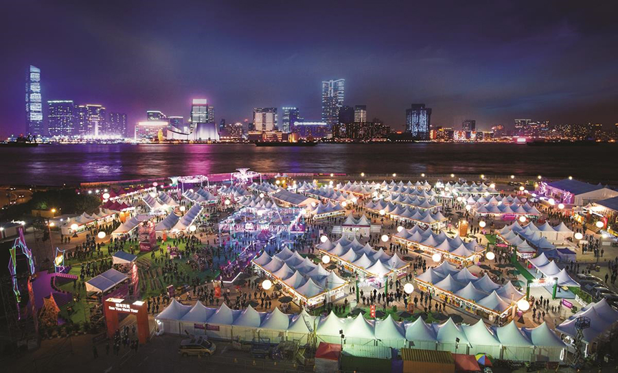 旅發局昨日宣佈,由於疫情關係,「香港美酒佳餚巡禮」則會改為網上舉行。(旅發局提供)