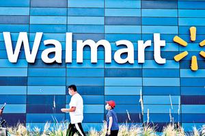 沃爾瑪第二季網售暴增97%