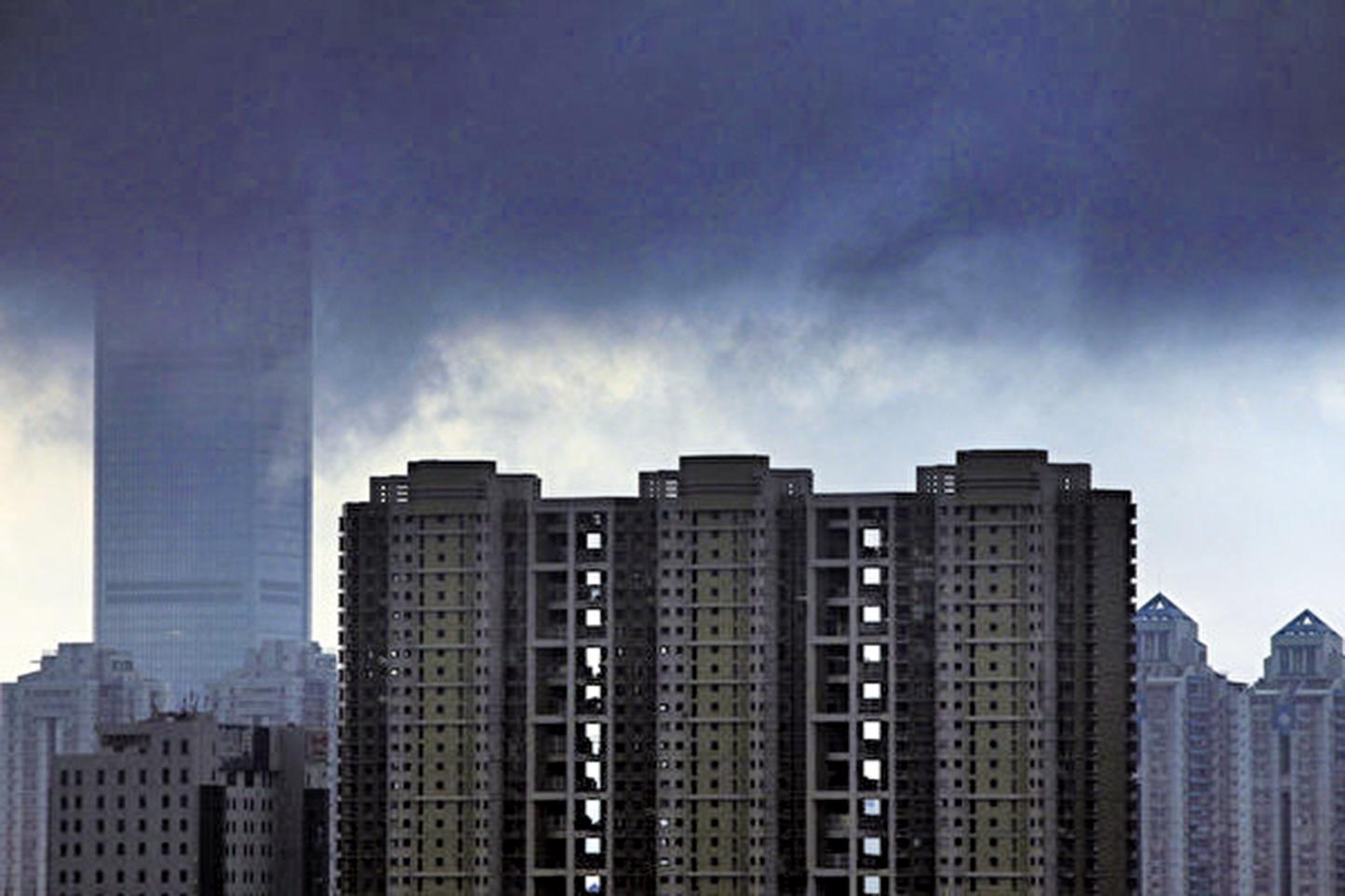 大陸樓市交易下滑將令GDP最多下滑10%。(Getty Images)