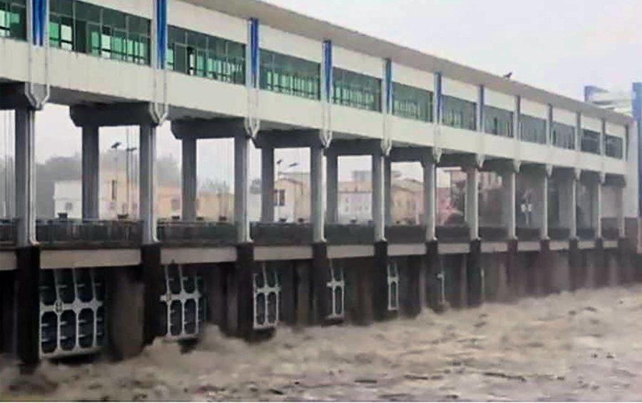 北戴河會後 習近平首次露面安徽「抗洪」