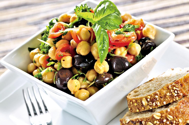 豆類製成各種沙律都非常適合。