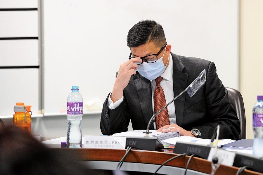 俞懷松:港警應擔憂其養老金