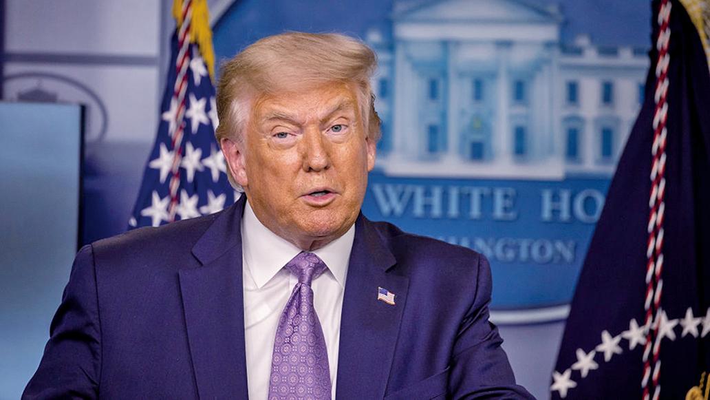 美國總統特朗普本周二表示支持甲骨文公司(ORACLE)收購TikTok在美業務。(Getty Images)