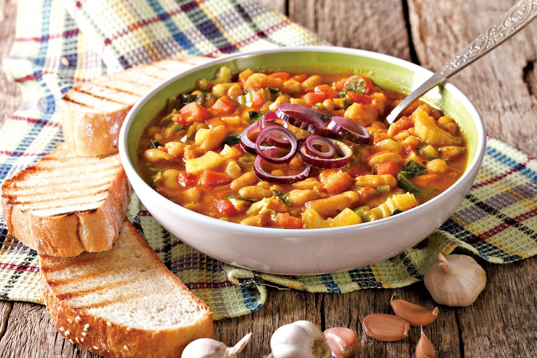 托斯卡納豆加入各式湯品都能呈現出不同的風味。
