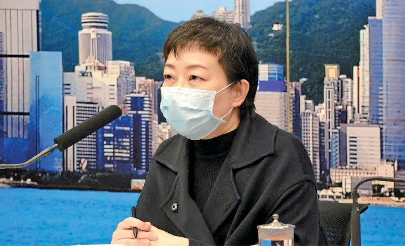 衞生防護中心傳染病處主任張竹君。(大紀元資料圖片)