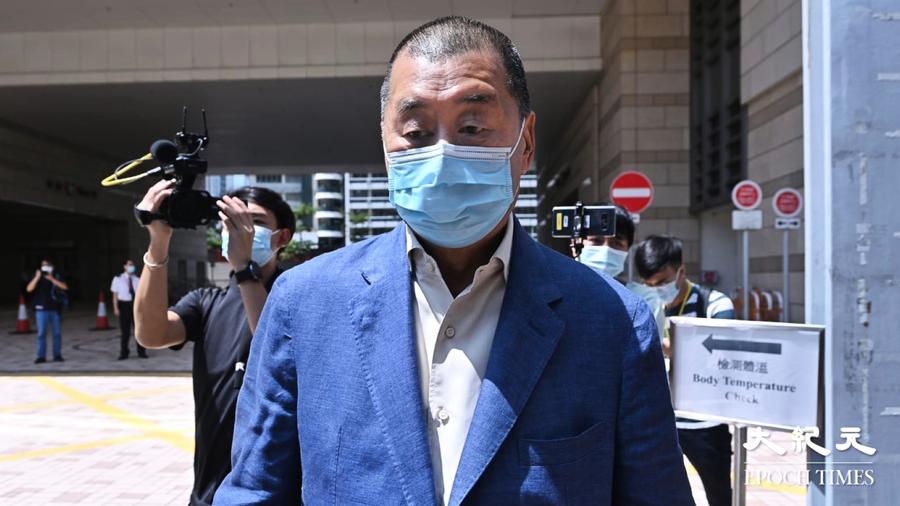 黎智英獲頒新聞特別獎 籲繼續為香港發聲