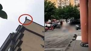 四川少女25樓墜亡!父親欲接反被砸死