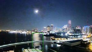 2個月內2宗 日本關東驚現「滿月級」神秘光球