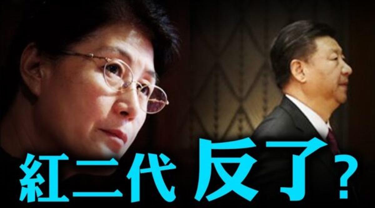 中共中央黨校前教授蔡霞接受美國媒體採訪時表示,中美之間的衝突而是兩套政治體制和意識形態之間的競爭和對抗。(新唐人影片截圖)