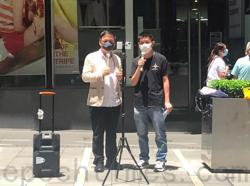 籲抵制全民檢測 錢志健:「香港進入恐怖政治」