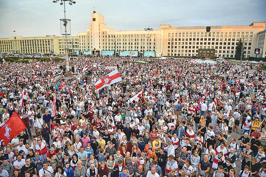 白俄羅斯繼續抗爭:總統下台