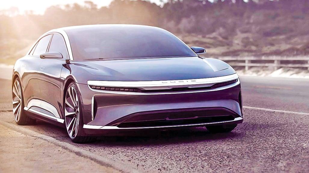 被稱為充電最快電動車的Lucid Air電動轎車,將於9月9日正式發佈。(Lucid Motors)