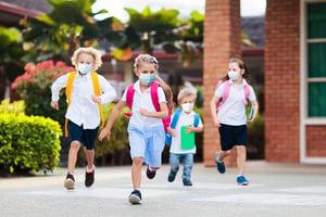 孩子今年返校面臨的不同局面 (一)