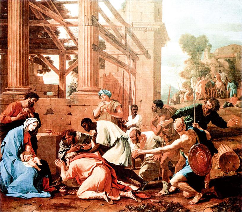 1633年作品《賢士的崇拜》。(公有領域)