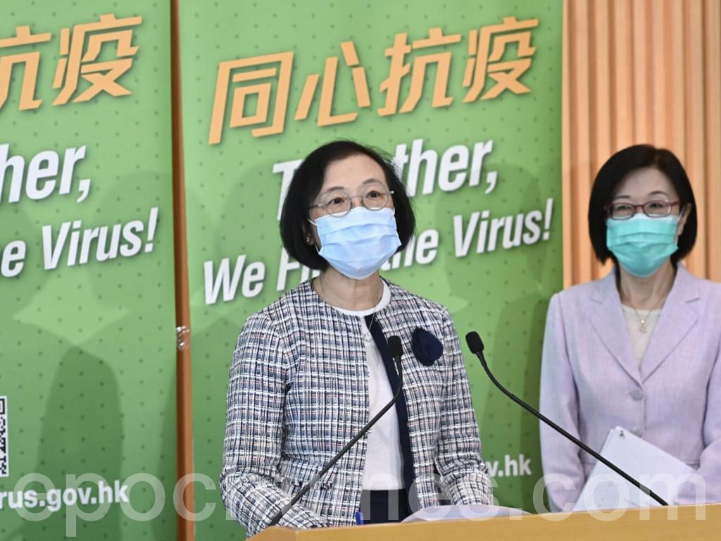 陳肇始表示,除非疫情出現大爆發,政府將在8月28日(周五)發出新的指示。(宋碧龍/大紀元)