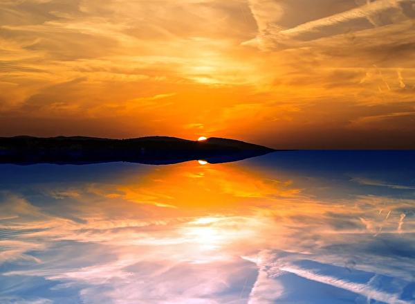 織女凌空而去,在天地間失去了蹤影。(pixabay)