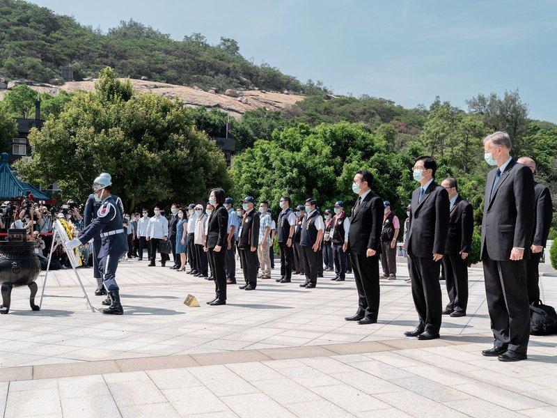 金門炮戰六十二周年  美高官首度出席  釋保衛台灣信號?