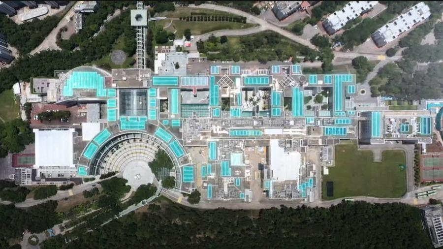 香港科大安裝太陽能板 全港同類系統中規模最大