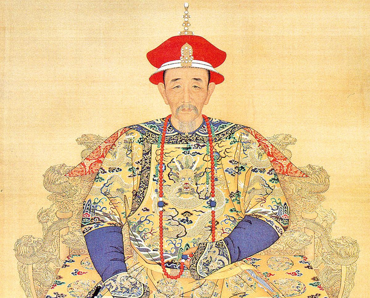 康熙皇帝朝服像(公有領域)