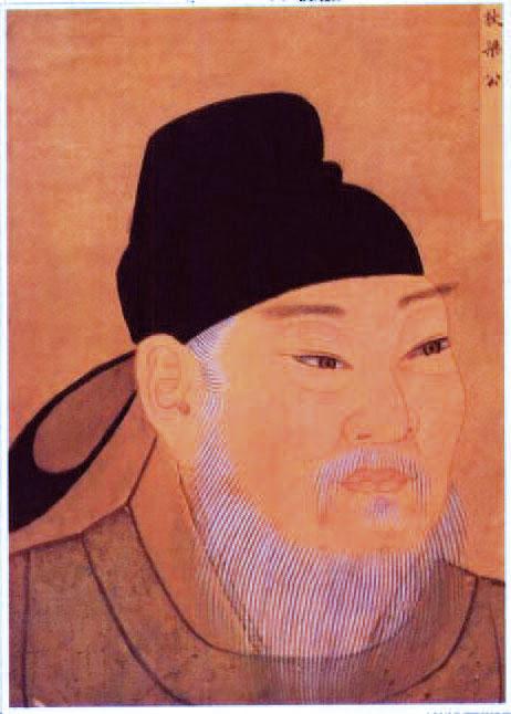 清宮殿藏本狄仁傑畫像。(公有領域)