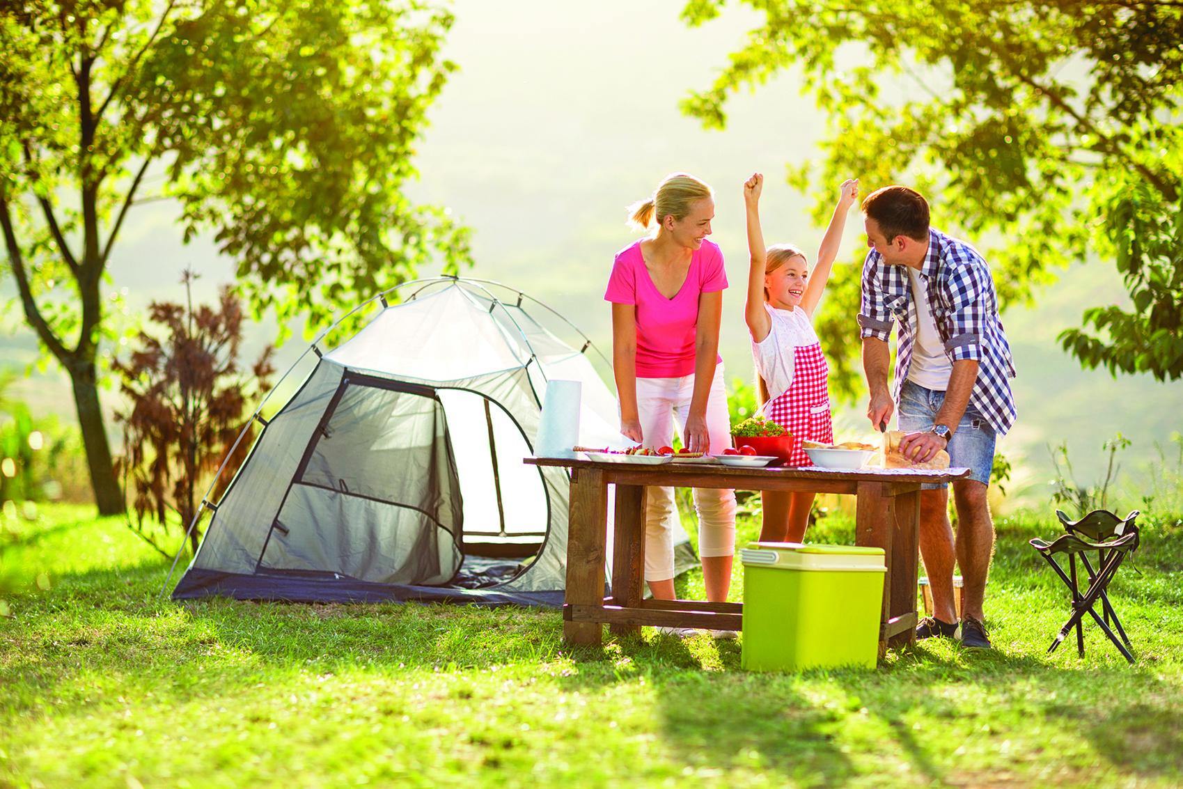 在疫情延燒的時期,露營可讓全家人享受難得的時光。