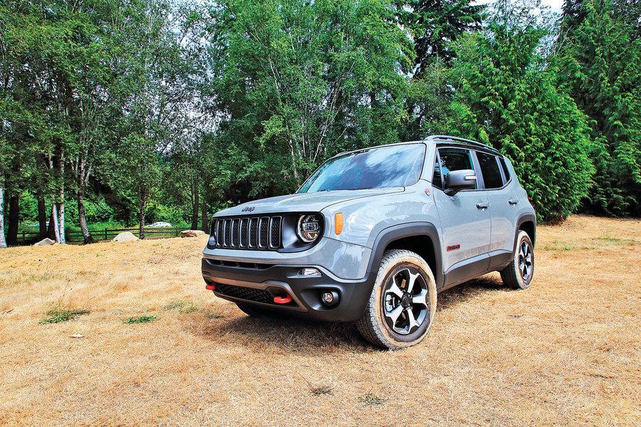 與Renegade去越野  Jeep Renegade Trailhawk