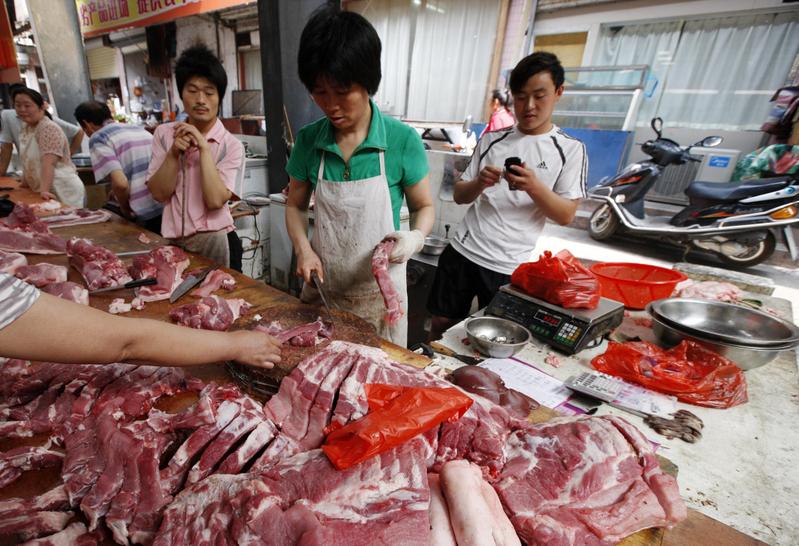 豬肉價格瘋漲34% 大陸物價暴漲名單